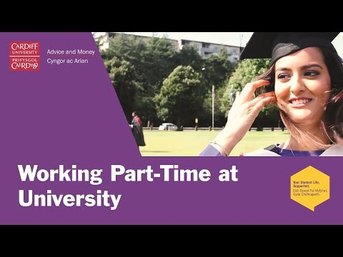 Working Part-Time At University