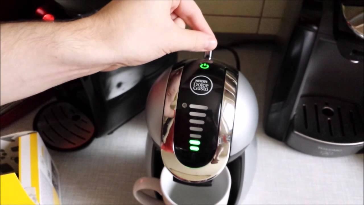 Test: Nescafé Dolce Gusto Genio von De'Longhi - YouTube