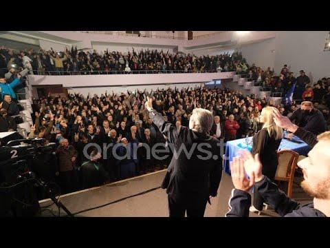 Download LIVE / Sali Berisha bashkëbisedim me demokratët e Dibrës
