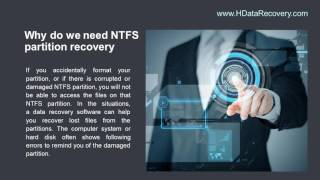 How to Restore Damaged NTFS Partition With Data Recover Tool