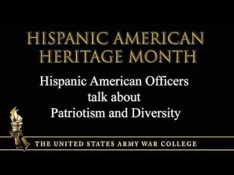 Hispanic American Heritage Month - Hispanic Officers talk about Patriotism and Diversity
