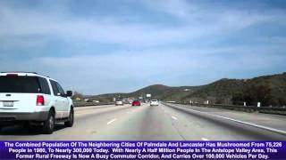 CA 14 North, Antelope Valley Freeway, Soledad Pass, Exit 11 To Exit 35