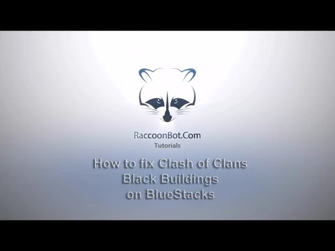 How to fix Clash of Clans Black Buildings on BlueStacks