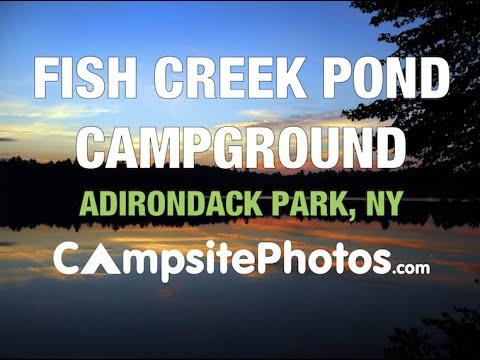 Fish Creek Campground, Adirondack Park, New York