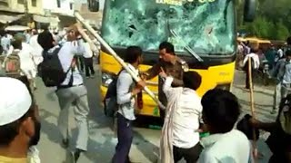 Police vs Student   Student Fight with police