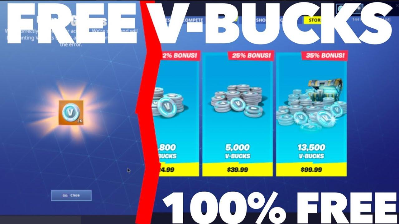 How to Get FREE Vbucks in Fortnite Season 10 | Best Methods for FREE Vbucks  in Fortnite Season 10