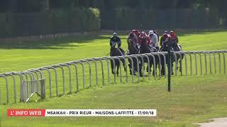 Vidéo de la course PMU PRIX RIEUR