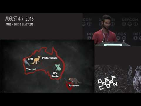 DEF CON 24 - Adam Donenfeld - Stumping the Mobile Chipset