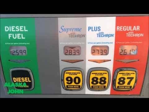 ALASKA GAS PRICES - Anchorage - February 11th 2017