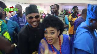 JIDE KOSOKO BIRTHDAY WAS GREAT AS CLEBRETIES FRIENDS  FAMILY WAS SPRAYING MONEY FOR HIM