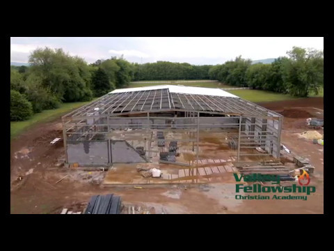 04-22-2017 Construction Progress Report Valley Fellowship Christian Academy