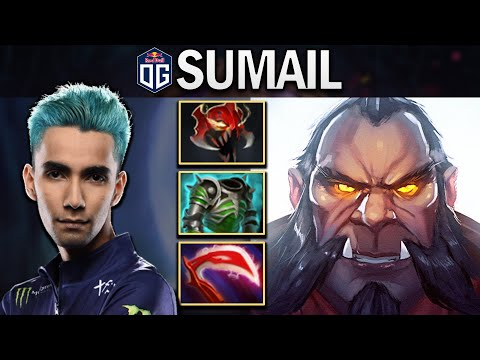 OG.SUMAIL MID LYCAN WITH 18 KILLS - DOTA 2 7.24 GAMEPLAY