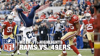 Rams vs. 49ers | Week 17 Highlights | NFL
