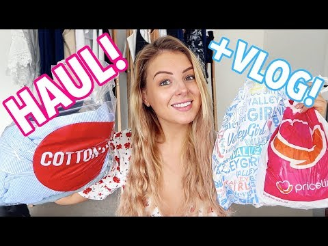 SO MUCH STUFF! Shopping, Gym, Travelling + Haul!