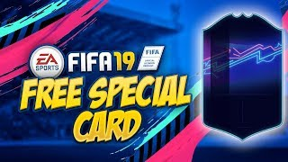 HOW TO GET A FREE SPECIAL CARD in FIFA 19 ULTIMATE TEAM - STARTER SQUAD TRICK !!!