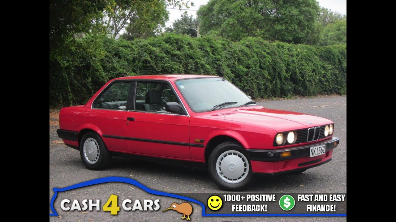 1988 Bmw 316i Coupe  Manual  Nz New   1 Reserve