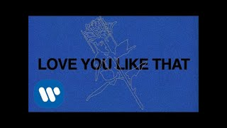 Ali Gatie - Love You Like That (Official Lyric Video)