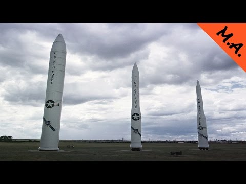 Inside A Till Now Top Secret US Nuclear Missile Silo & Launch Facility + ICBM Test Launches