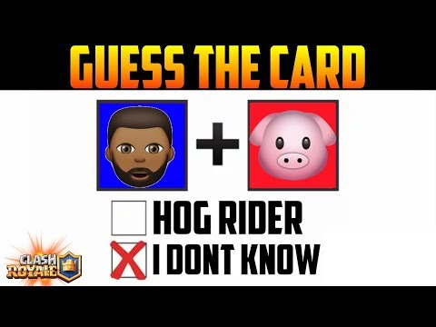GUESS THE TROOP ! | Clash Royale Quiz