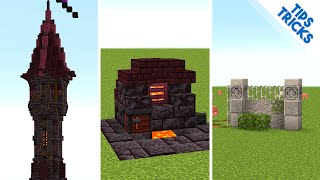 How to Use the New Nether Blocks (Minecraft 1.16 Building Tips)