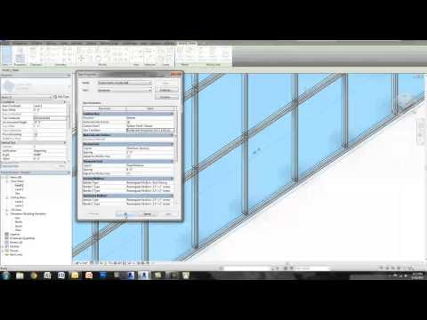 "Revit Tutorial - Create ""Butt Glazing"" in a Curtain Wall / Storefront"