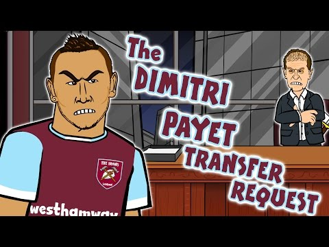 DIMITRI PAYET WANTS TO LEAVE RIGHT NOW! Payet's Transfer Request - the SONG!
