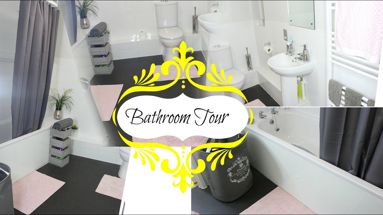 BATHROOM TOUR 2016 ! Kelszbeautz - YouTube