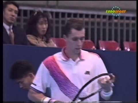 Tokyo 1993 SF Lendl vs. Haarhuis