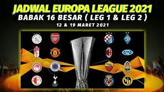Jadwal Lengkap Liga Europa Babak 16 Besar Leg 1 & Leg 2 ~ Manchester United vs Ac Milan
