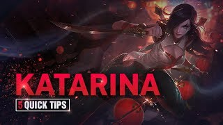 5 Quick Tips To Climb Ranked: Katarina (Feat. Hubblet)