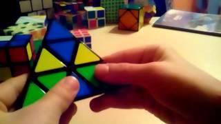 Как собрать пирамиду Рубика???Легко!!!