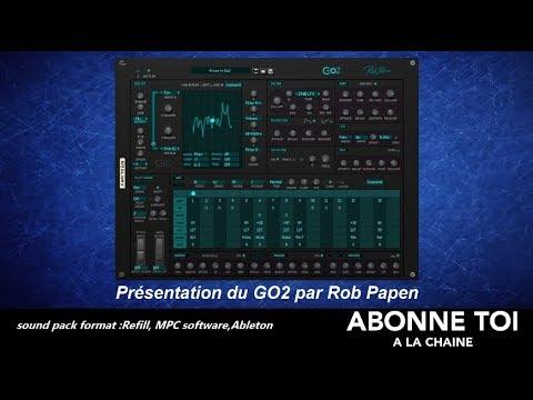 """abc du beatmaking """"propellerheads Présentation du GO2 par Rob Papen"""""""