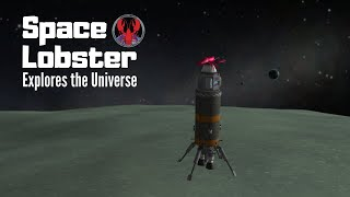 Space Lobster explores the Kerbal Universe! 🦀🚀 Live Stream