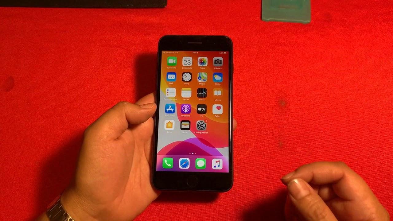 Como desbloquear un iPhone con RSIM (Metodo ICCID) iPhone 7 Plus