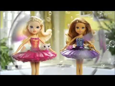 Moxie Girlz Bubble Bath Surprise Dolls Commercial