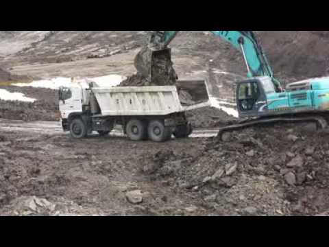 Hino 700 ZS 4141 indonesia mining