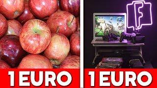 Wat kan je kopen voor 1 EURO?
