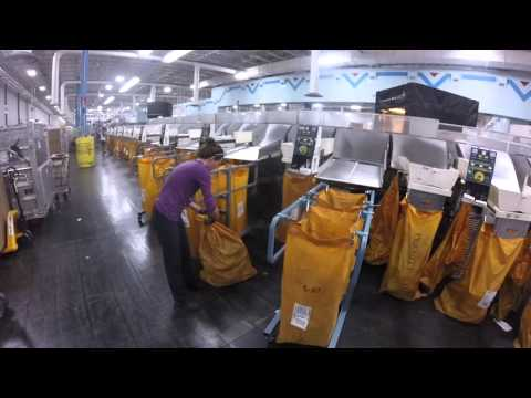 USPS Lehigh Valley center shows off its high volume operations on