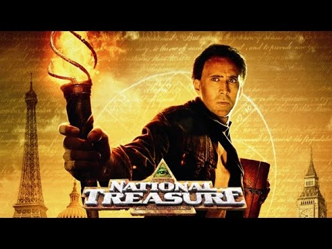 making of the national treasure movie hollywood movie