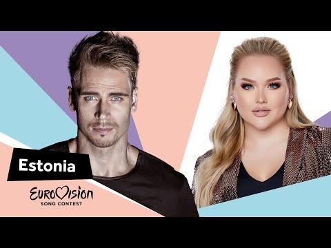Eurovisioncalls Uku Suviste - Estonia 🇪🇪 with NikkieTutorials
