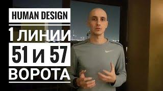 Дизайн Человека 51 и 57 ворота. Обзор транзитов. Даниил Трофимов. Human Design