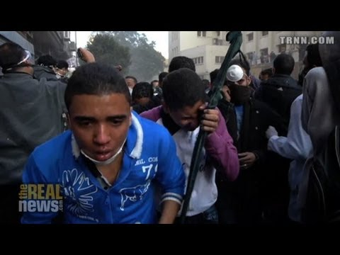 Egyptian Protestors Vow To Resist U.S. Made Toxic Gas