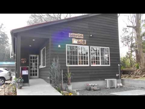 アウトドア カフェ 山小屋