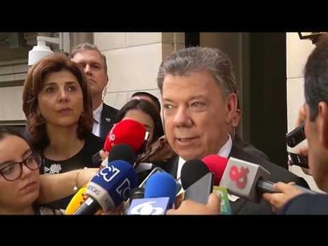 Declaración del señor Presidente Juan Manuel Santos en Nueva York - 19/09/2016
