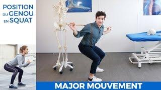 Le squat mauvais pour le genou? Conseil de kiné