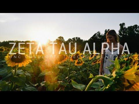 UNC Charlotte Zeta Tau Alpha | Recruitment 2017