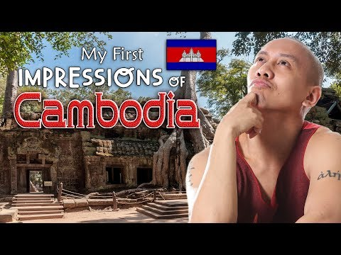 OMG! MY FIRST IMPRESSIONS OF CAMBODIA!   Vlog #14