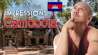 OMG! MY FIRST IMPRESSIONS OF CAMBODIA! | Vlog #14