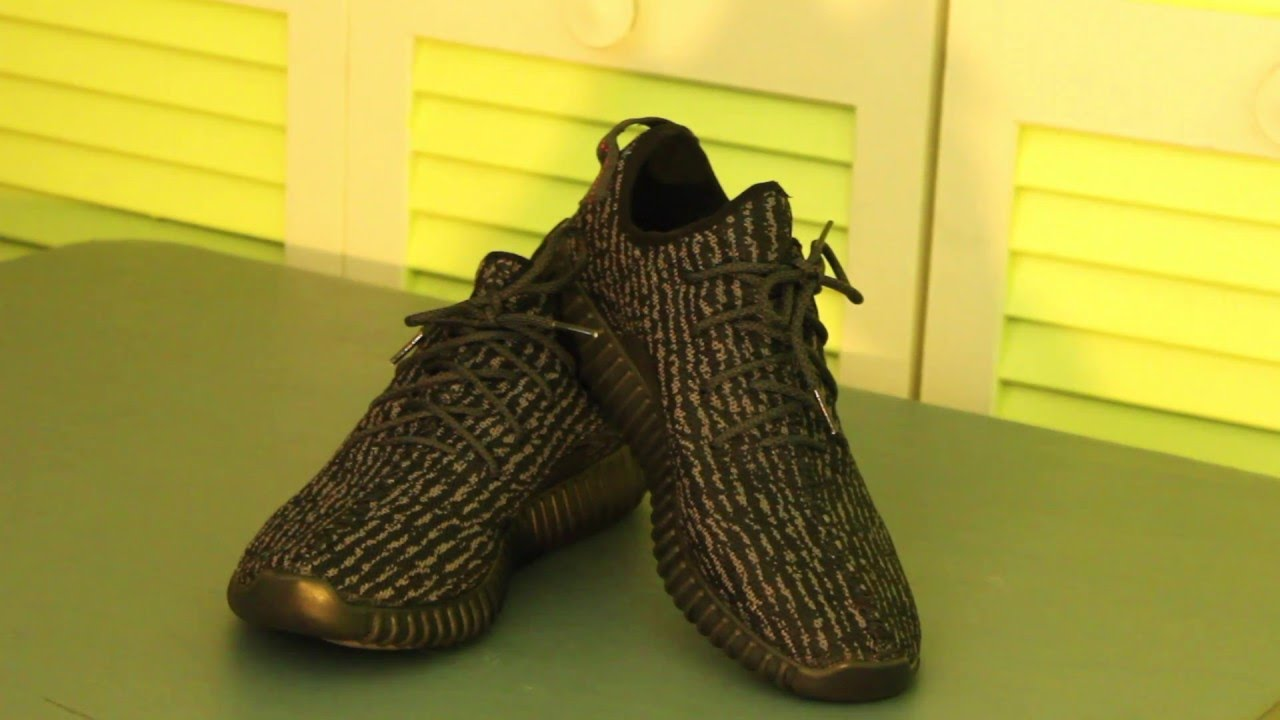 052e8ecb139b DHGate  54 Adidas Yeezy 350 Boost Pirate Black (UA) Review - YouTube