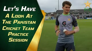 🔉🔛🔊 Let's Have A Look At The Pakistan Cricket Team Practice Session | PCB
